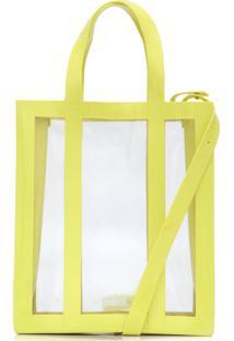Bolsa Melissa Tote Bag Amarela