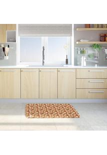 Tapete De Cozinha Mdecore Natal Marrom 40X60Cm