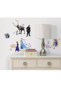 Adesivos De Parede Roommates Colorido Frozen Peel And Stick Wall Decals