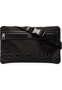 Dolce & Gabbana Pochete Com Logo - Preto