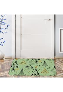 Tapete De Natal Para Porta ÁRvores Geomã©Tricas ÚNico - Multicolorido - Dafiti