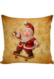 Capa Para Almofada Nikolaus- Marrom Claro & Vermelhastm Home
