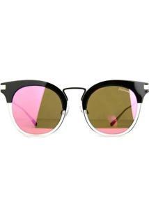 Óculos De Sol Hickmann Feminino - Feminino-Preto