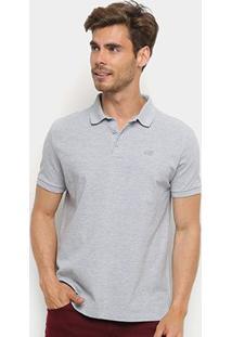 Camisa Polo Ellus 2Nd Floor Básica Masculina - Masculino-Mescla