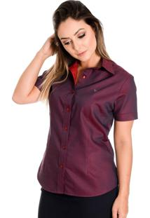 Camisa Pimenta Rosada Isabelle Vermelha