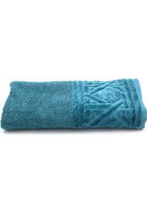 Toalha De Banho Santista Unique Benício Fio Penteado 70Cmx1,40M Azul