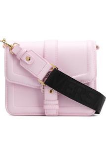 Versace Jeans Couture Bolsa Transversal Com Fivela - Rosa