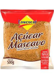 Açúcar Mascavo Peneirado Em Pó - Lowçúcar - 500G