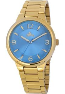 Relógio Allora Feminino Elisa - Feminino-Dourado
