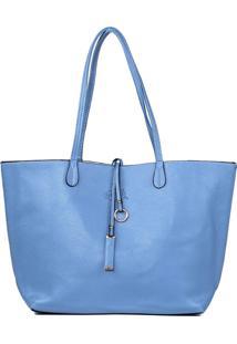 Bolsa Oumai Sacola Shopper Azul