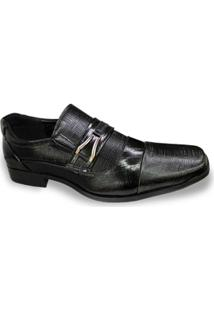 Sapato Broken Rules Mooncity Fivela Masculino - Masculino
