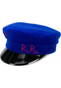 Ruslan Baginskiy Chapéu Baker - Azul