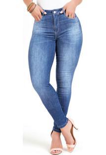 Calça Compressora Jeans Sawary
