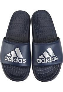 Chinelo Slide Adidas Voloomix Masculino - Masculino-Marinho
