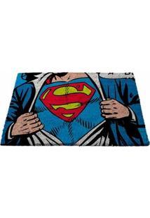 Capacho Fibra De Coco Super Homem Dc Comics
