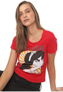 Blusa Cativa Disney Jasmine Vermelha