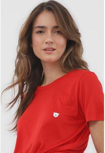 Camiseta Coca-Cola Jeans Urso Vermelha - Kanui