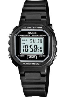 Relógio Casio La-20Wh-1Adf Preto - Kanui
