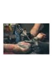Painel Adesivo De Parede - Tatuagem - 1064Pnm