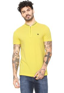 Camiseta Iódice Manga Curta Amarelo