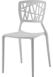 Cadeira Melissa Em Polipropileno Branco - 11366 - Sun House