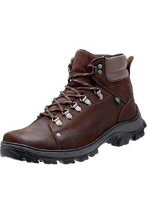 Bota Coturno Atron Shoes Adventure Marrom