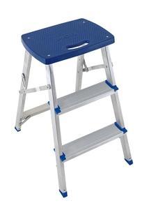 Escada Banqueta Alumínio - Unissex