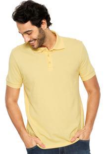 Camisa Polo Forum Slim Amarela