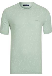 Camiseta Full Print Verde Água