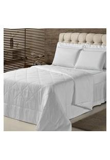 Edredom Queen Plumasul Summer Soft Touch 240X260Cm Branco