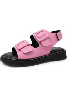 Sandália Damannu Shoes Kitty Feminina - Feminino-Rosa