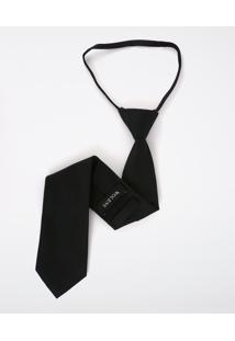 Gravata Knot Black Jacquard