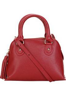 Bolsa Couro Shoestock Mini Handbag Feminina