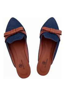 Sandália Dhi Calçar Bem Mule Jeans