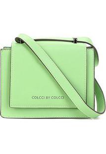 Bolsa Colcci Crossbody Pequena Feminina - Feminino-Verde