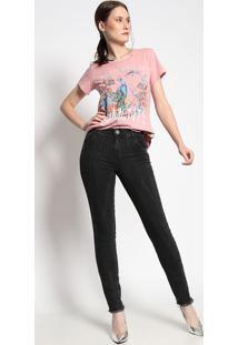 Camiseta Pavão- Rose & Azul- Coca-Colacoca-Cola