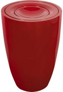 Lixeira Multiuso 100L Fibra De Vidro Astra Vermelho