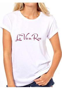 Camiseta Coolest La Vie En Rose Feminina - Feminino