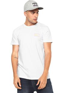 Camiseta Billabong Die Cut Branca