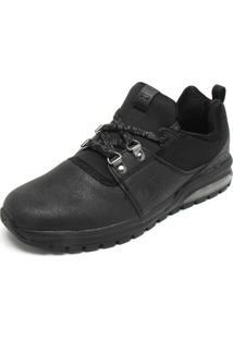 Tênis Couro Dc Shoes Heathrow Preto