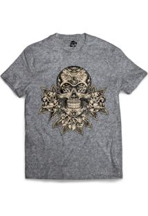 Camiseta Bsc Mexican Skull - Masculino