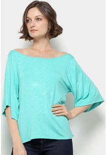 Blusa Mercatto Feminina - Feminino-Verde Claro