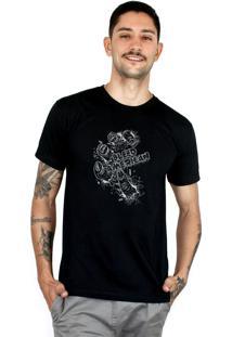Camiseta Bleed American Zombie Preta