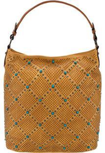 Bolsa Feminina Arara Dourada - Lt8145 Amarelo