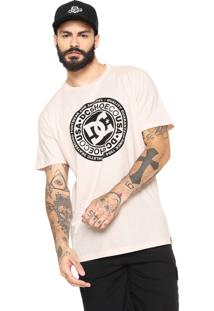 Camiseta Dc Shoes Circle Star Rosa