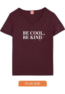 Blusa Roxa Be Kind Botonê