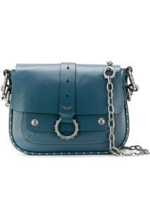 Zadig&Voltaire Bolsa Transversal Kate - Azul