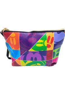 Necessaire Minas De Presentes Mickey 90 Anos Multicolorido