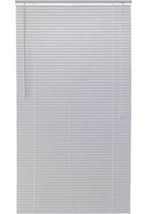 Persiana Horizontal Em Pvc Block 160X160Cm Branca