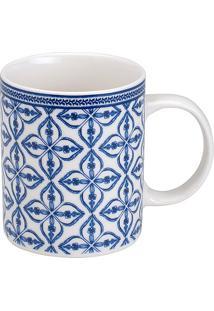 Caneca De Porcelana 300Ml Berati - Bon Gourmet - Branco